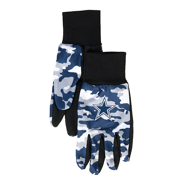 Dallas Cowboys Camo Utility Gloves
