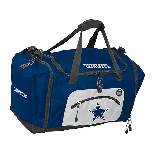 Dallas Cowboys Roadblock Duffle - Navy