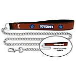 Dallas Cowboys Leather Pet Leash