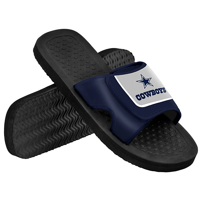Dallas Cowboys Mens Shower Slide Sandals