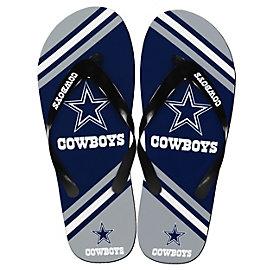 Dallas Cowboys Unisex Logo Flip Flops