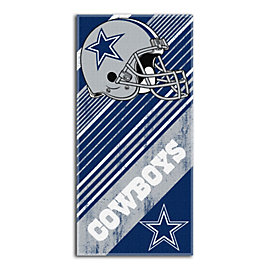 Dallas Cowboys Diagonal Beach Towel
