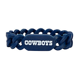 Dallas Cowboys Silicone Links Bracelet