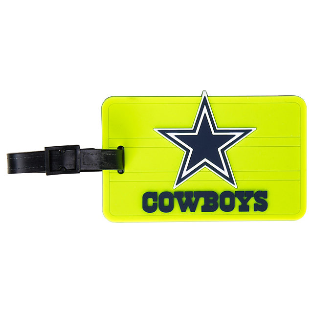 Dallas Cowboys Neon Bag Tag
