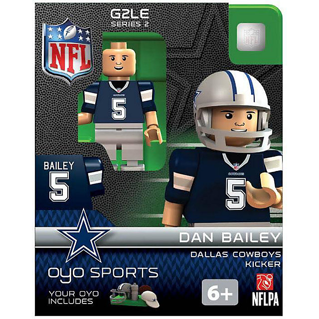 Dallas Cowboys Dan Bailey OYO Minifigure