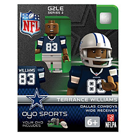 Dallas Cowboys Terrance Williams OYO Minifigure