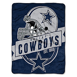 Dallas Cowboys 46x60 Grand Stand Micro Raschel Throw