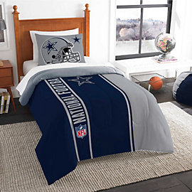 Dallas Cowboys 64 x 86 Twin Comforter Set