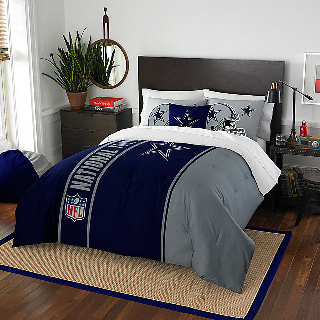 Dallas Cowboys 76 x 86 Full Comforter Set