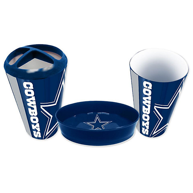 Dallas Cowboys 3 Piece Bath Accessory Set