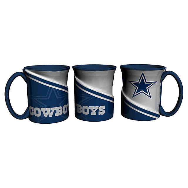 Dallas Cowboys Sculpted Twist Mug