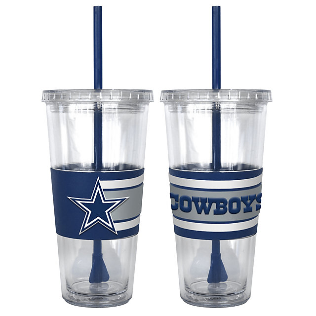 Dallas Cowboys 3D Hype Straw Tumbler