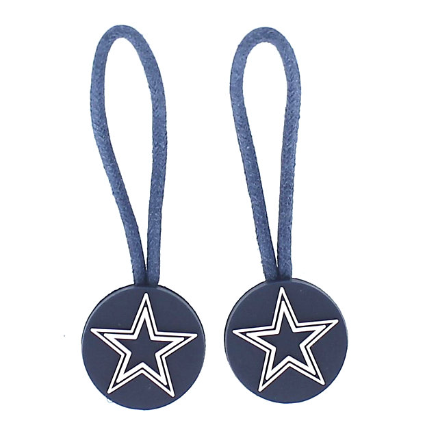 Dallas Cowboys Navy ID Zipper Pull