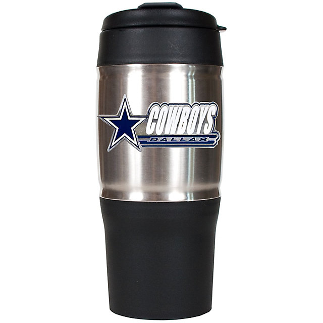 Dallas Cowboys 18 oz Heavy Duty Travel Tumbler