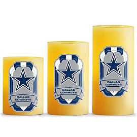 Dallas Cowboys LED Light Candles