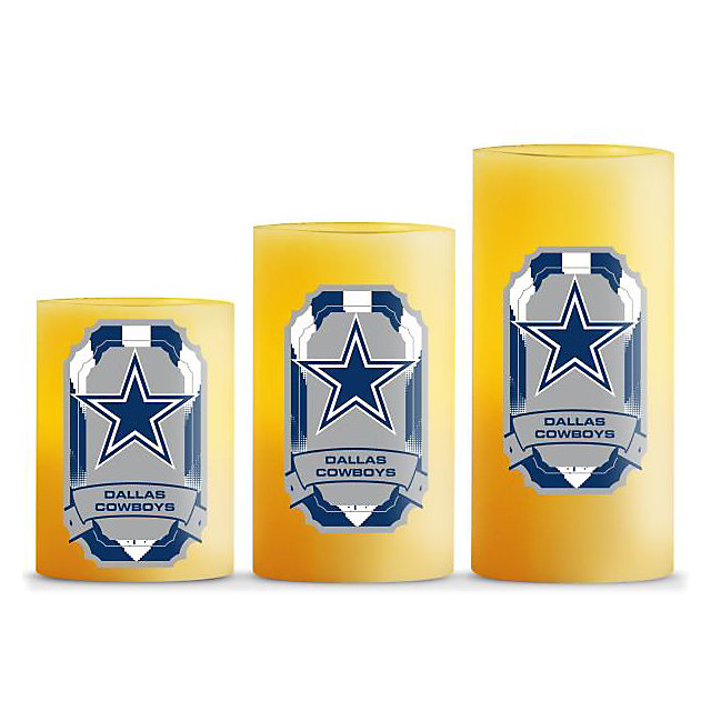 Dallas Cowboys LED Light Candles