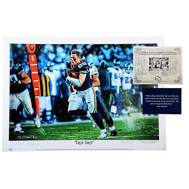 Dallas Cowboys Jason Witten True Grit Print Regular Edition