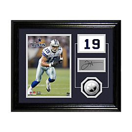 Dallas Cowboys M.Austin Player Pride Desktop Photo Mint