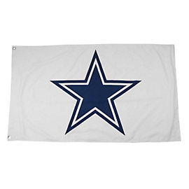 Dallas Cowboys Double Sided Star Flag
