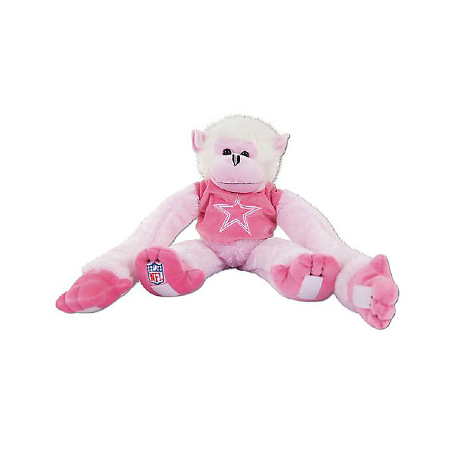 Dallas Cowboys Pink Team Monkey
