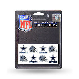 Dallas Cowboys Peel and Stick Tattoos