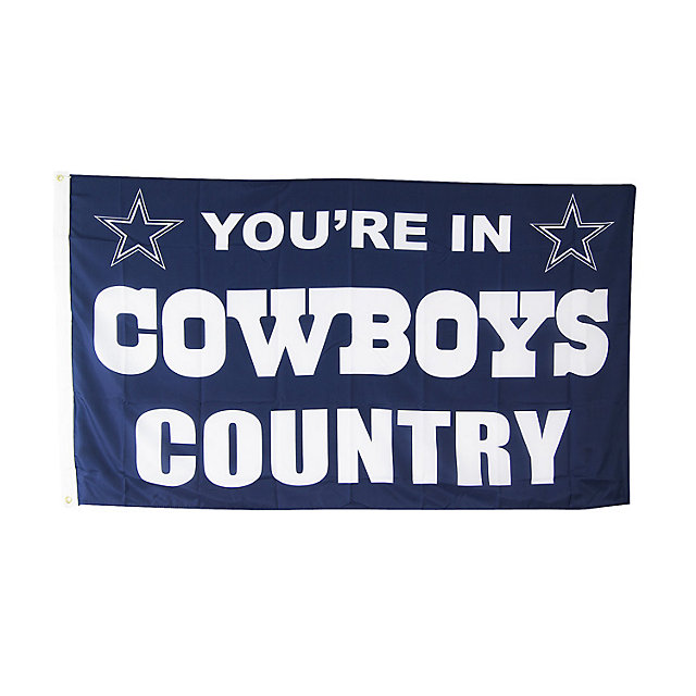 Dallas Cowboys Country 3x5 Flag