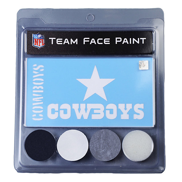 Dallas Cowboys Face Paint