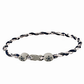 Dallas Cowboys Youth Twisted Titanium Sport Necklace