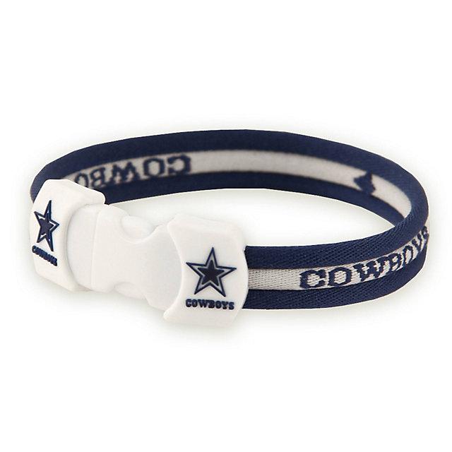 Dallas Cowboys 8.5-Inch Titanium Sport Bracelet