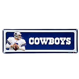 Dallas Cowboys Mini Team Player Sign - #9 Tony Romo