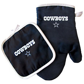 Dallas Cowboys Oven Mitt and Pot Holder Set
