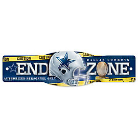 Dallas Cowboys End Zone Sign