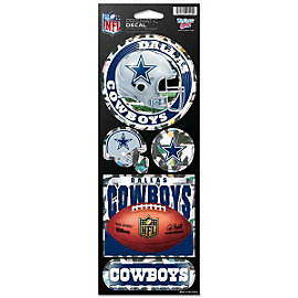 Dallas Cowboys Prismatic Decal Set