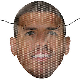Dallas Cowboys Miles Austin Mask