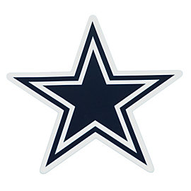 Dallas Cowboys Star Decal - 4.5 Inch