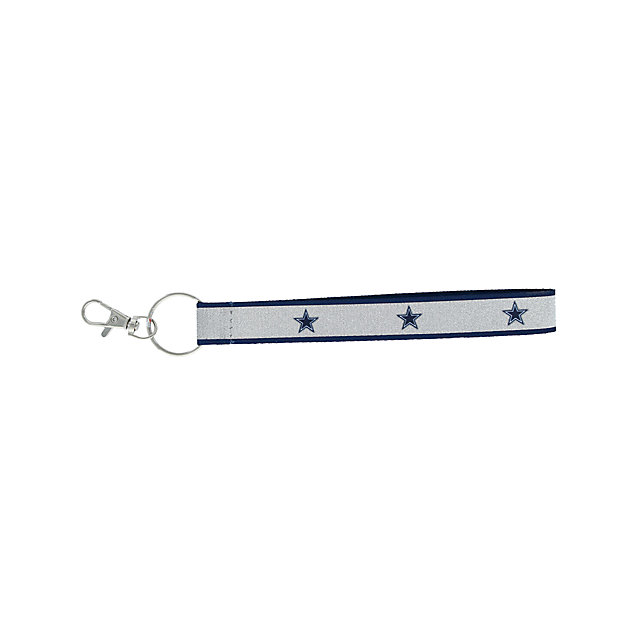 Dallas Cowboys Sparkle Wristlet Lanyard