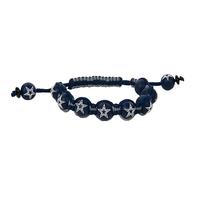 Dallas Cowboys Bead Bracelet