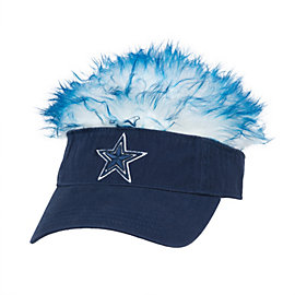 Dallas Cowboys Visor Flair Hair