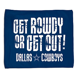 Dallas Cowboys Get Rowdy Rally Towel