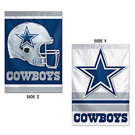 Dallas Cowboys Vertical 2-Sided Flag