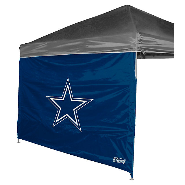 Dallas Cowboys 10 x 10 Straight Leg Canopy Wall