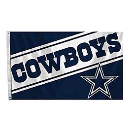 Dallas Cowboys 3x5 Cowboys Wordmark Flag