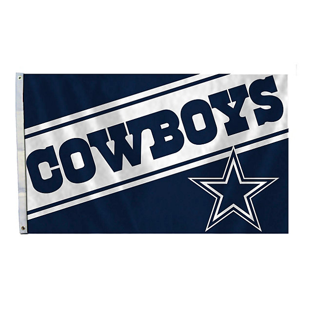 Dallas Cowboys 3x5 Cowboys Wordmark Flag