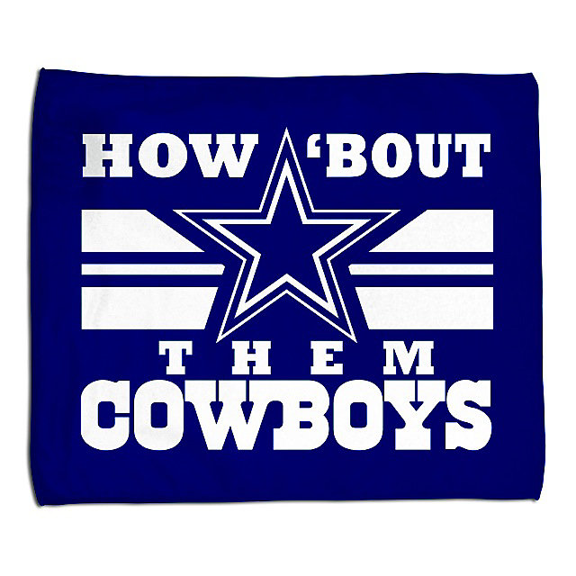 Dallas Cowboys How Bout Them Rally Towel