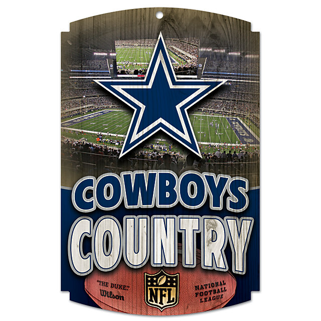 Dallas Cowboys Country Wood Sign Home Decor Home