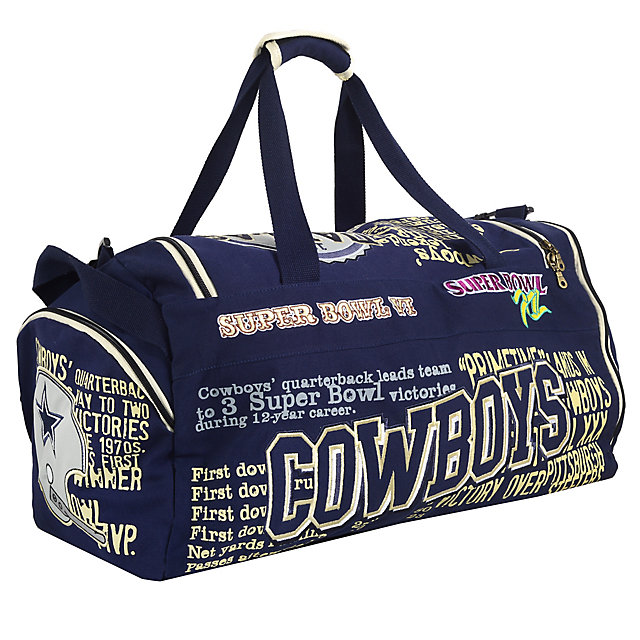 Dallas Cowboys Historical Art Duffle Bag