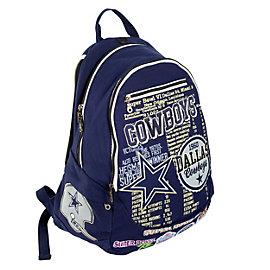 Dallas Cowboys Historical Art Backpack