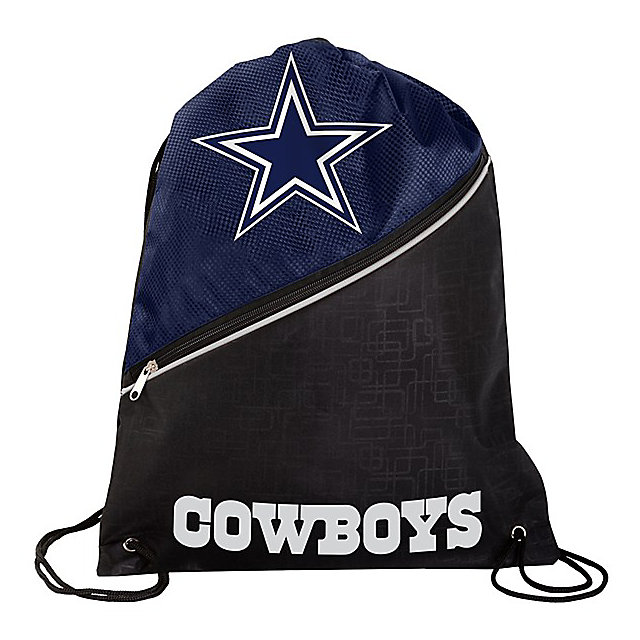Dallas Cowboys High End Zipper Drawstring Backpack