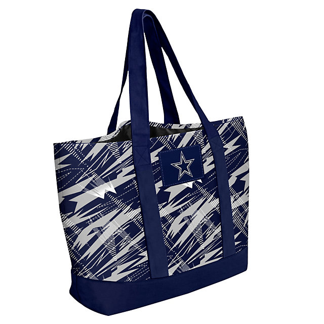 Dallas Cowboys Shatter Print Tote