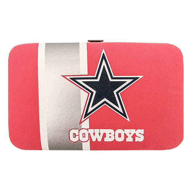 Dallas Cowboys Pink Shell Wristlet